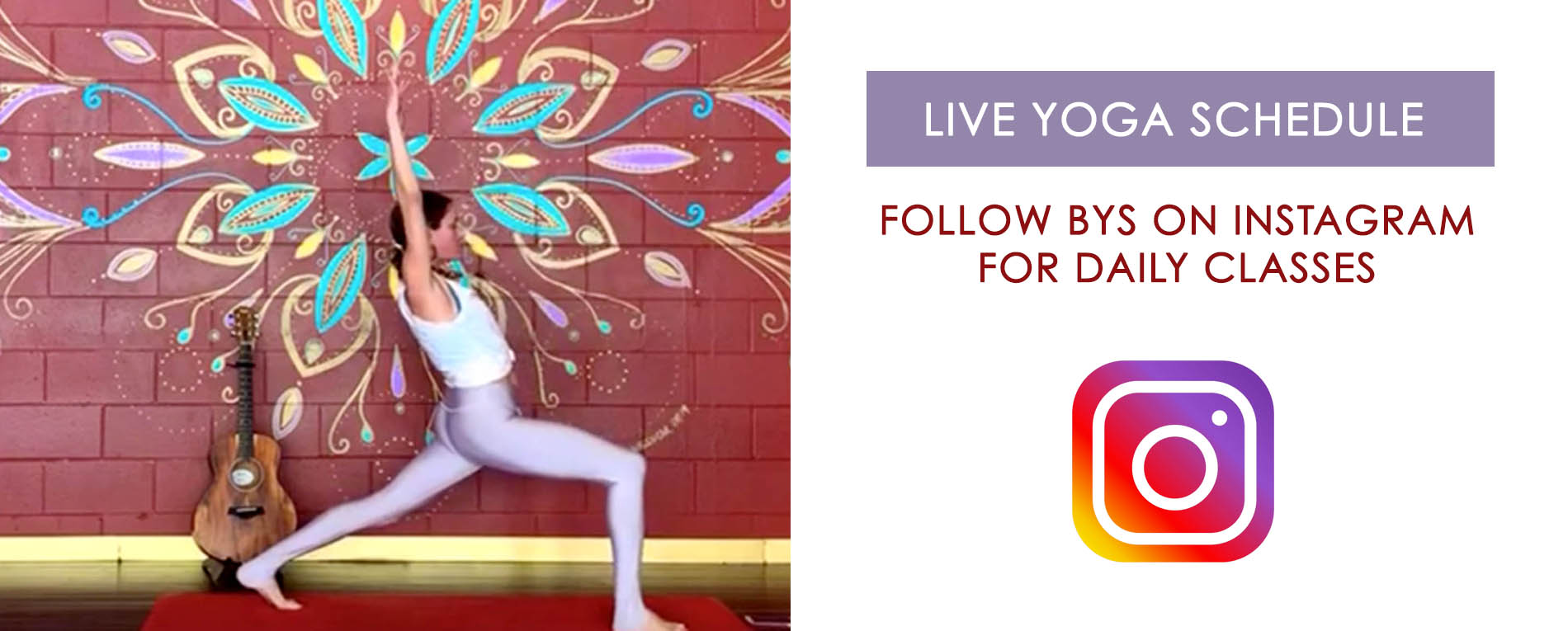 Instagram Live Streaming Daily Yoga Classes