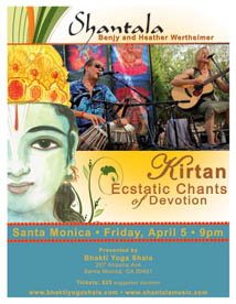 UPCOMING SPECIAL EVENTS- Bhakti Yoga Shala | Santa Monica, CA | Yoga Kirtan Chanting