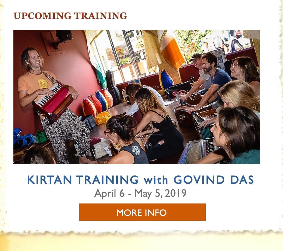 Bhakti Yoga Shala Kirtan Workship Event