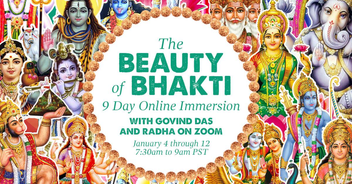 beauty of bhakti