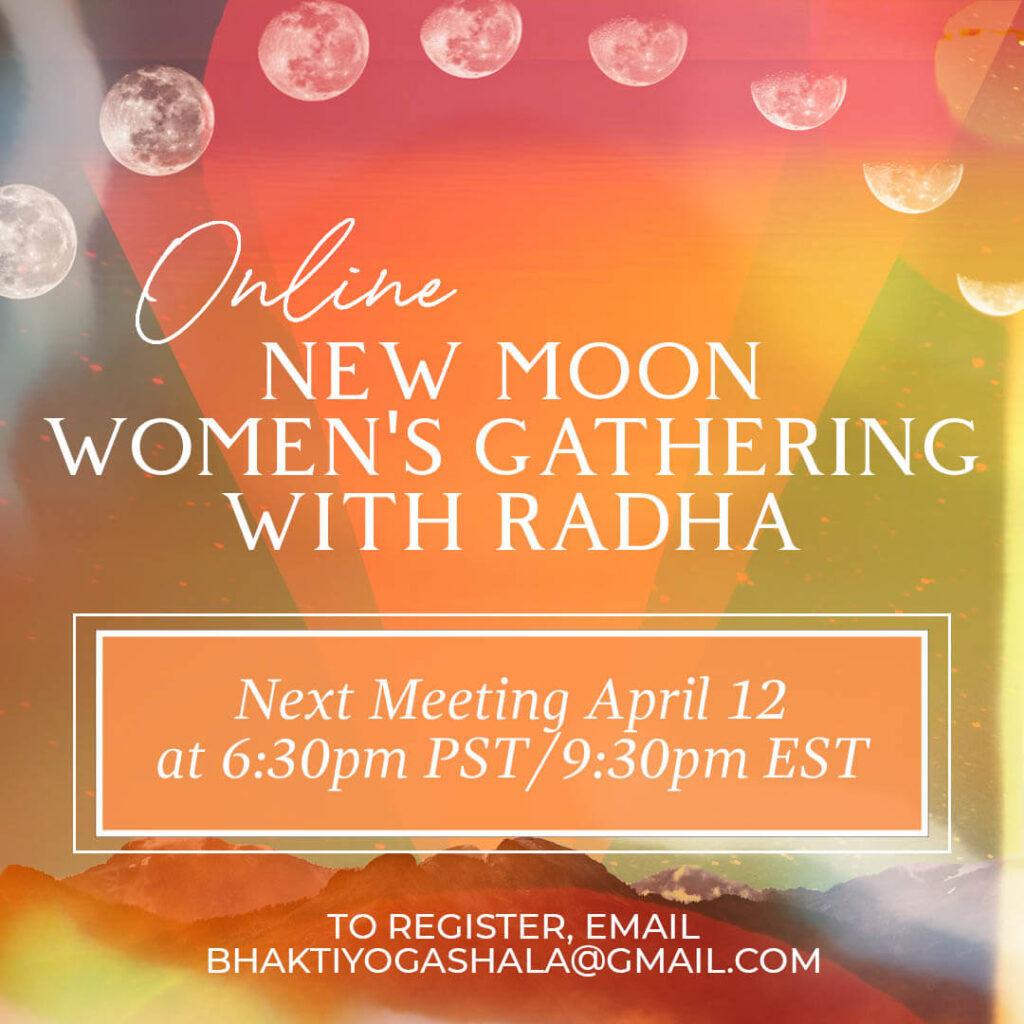 new moon gathering