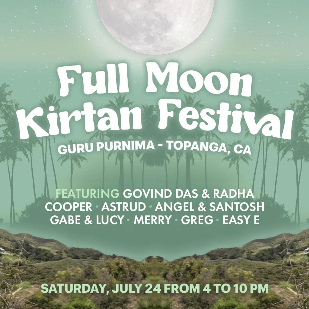 Outdoor Full Moon Kirtan Festival